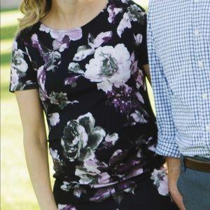 Pinkblush maternity floral dress